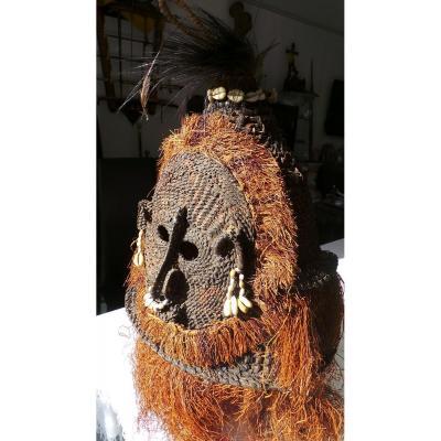 Nouvelle Guinee - Papouasie - Masque Coiffe De Danse -