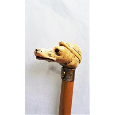 Cane-cane A Lever Head To The Cap