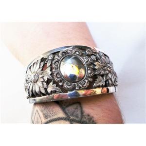 Bracelet Manchette En Argent 925