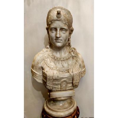 Buste En Marble, Cléopâtre
