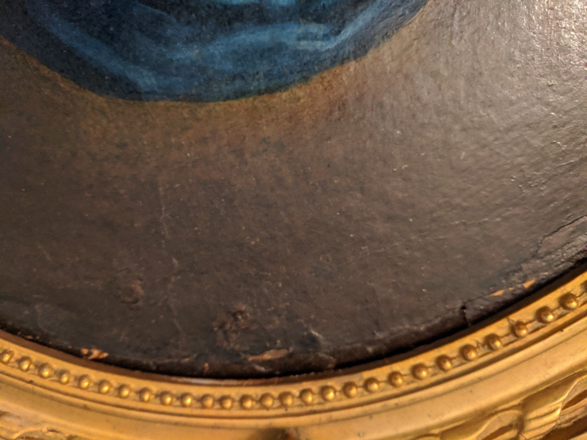 Painting Virgin In Prayer Follower Of Sassoferato-photo-5