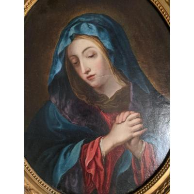 tableau  Vierge En Prière Suiveur De Sassoferato