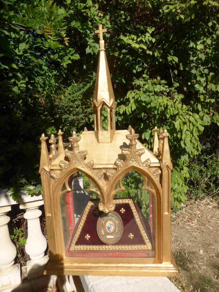 Reliquaire Paperolles Neo Gothique Chapelle