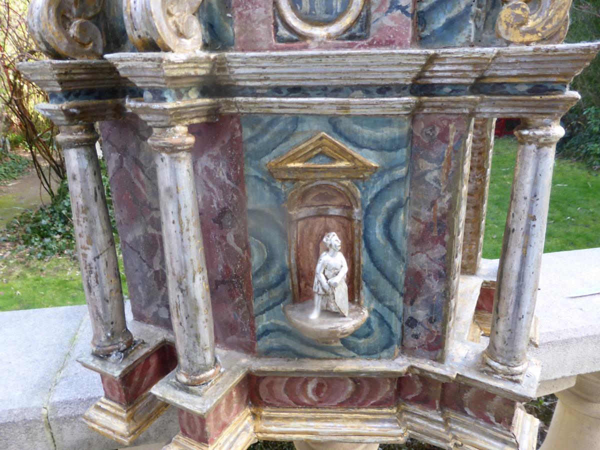 Tabernacle Italien 18  Eme Siecle-photo-4