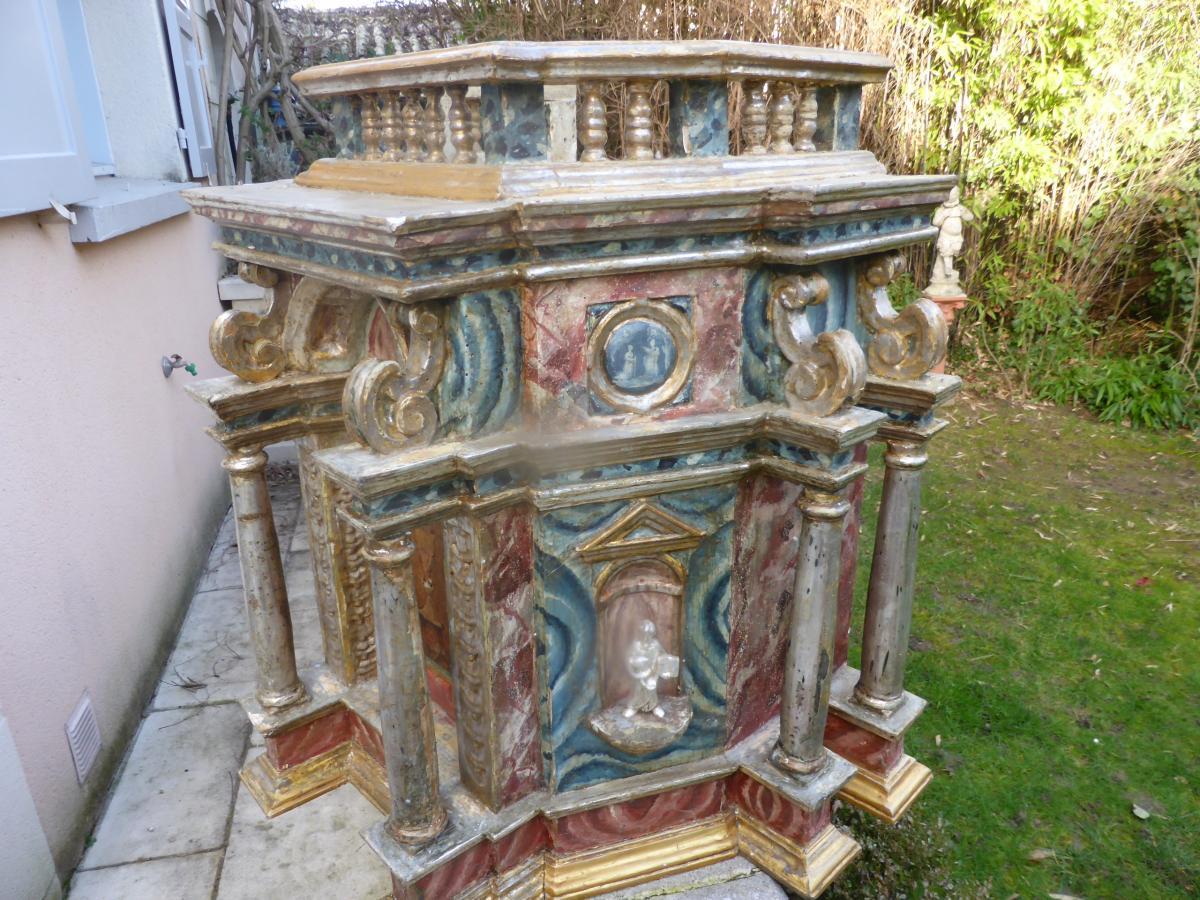 Tabernacle Italien 18  Eme Siecle-photo-8