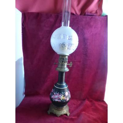 Lampe A  Huile Napoleon III