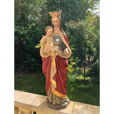 Vierge A L Enfant
