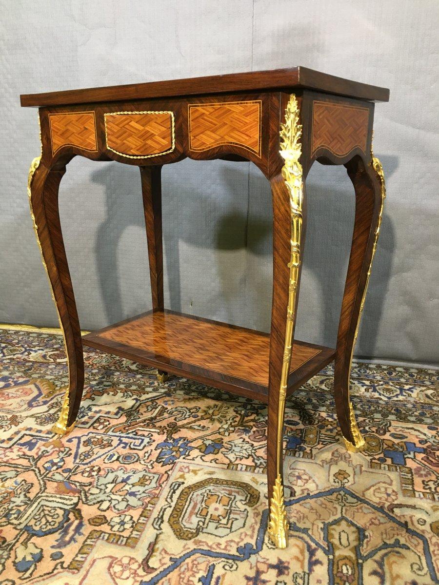 Louis XV Salon Table System, Nineteenth Century