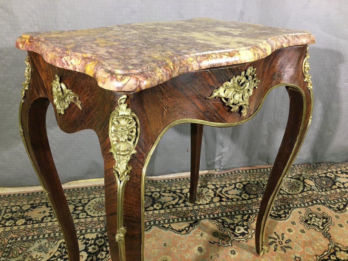 Table De Salon Epoque  Napoléon III -photo-2