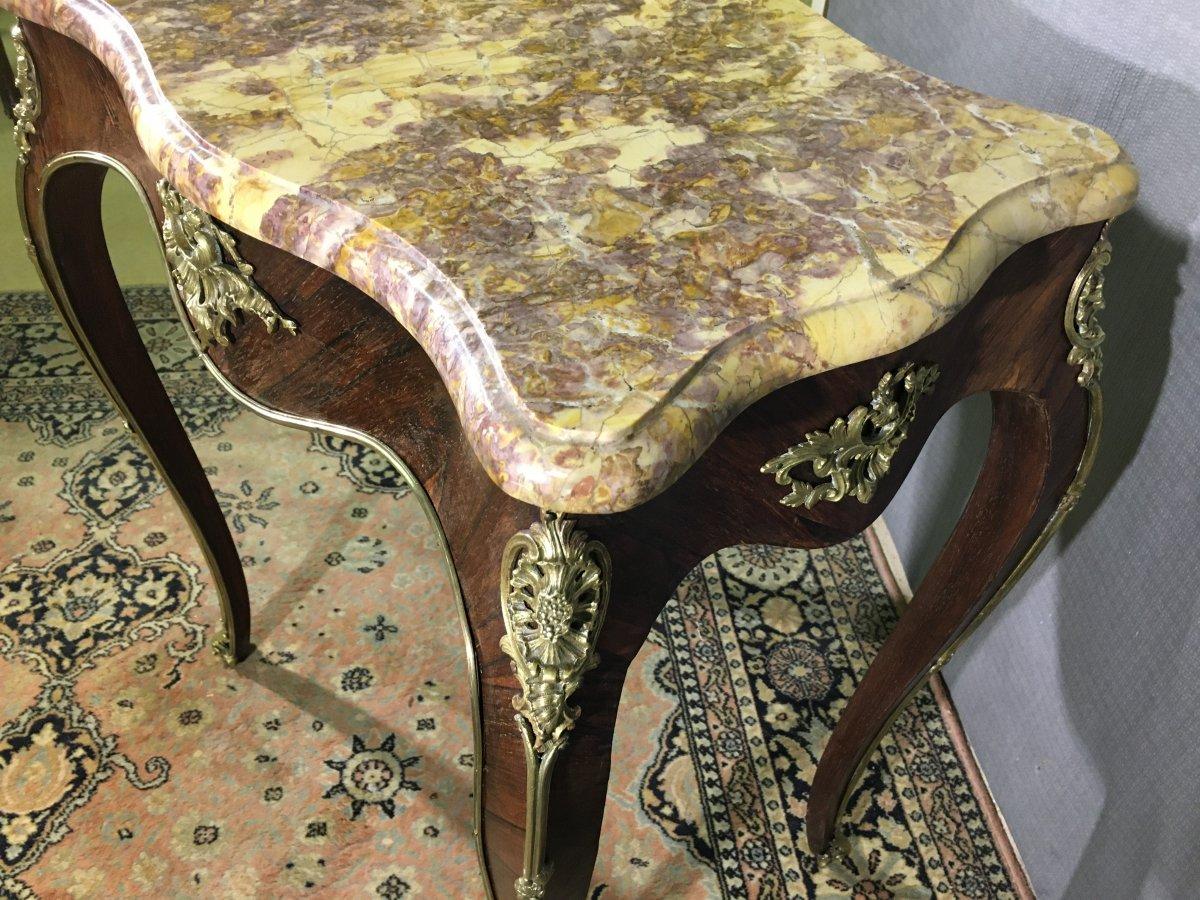 Table De Salon Epoque  Napoléon III -photo-3