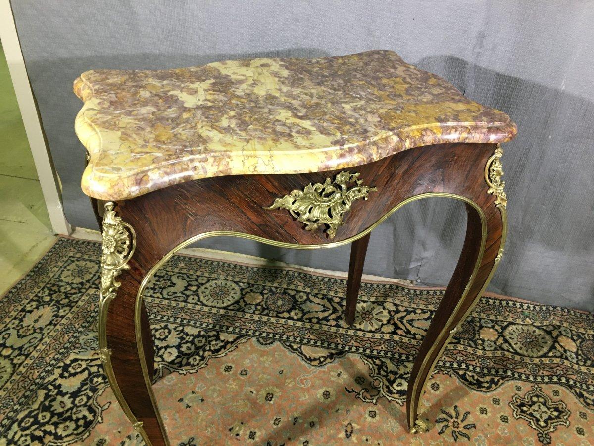 Table De Salon Epoque  Napoléon III -photo-1