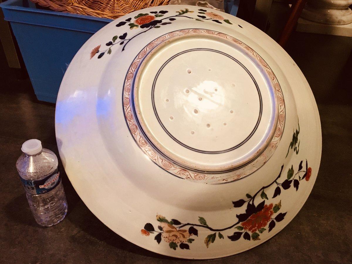 Porcelain Dish China, 18th Century, Diameter 55 Cm