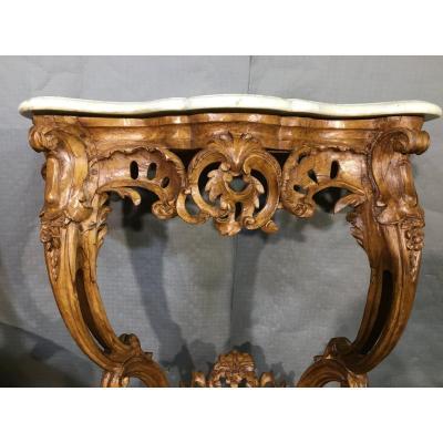 Console Louis XV , Epoque XVIIIème Siècle