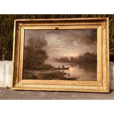 Table 174 Cm X 132 Cm Signed And Dated 1868