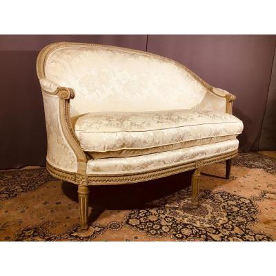 Canapé Louis XVI de Forme Corbeille