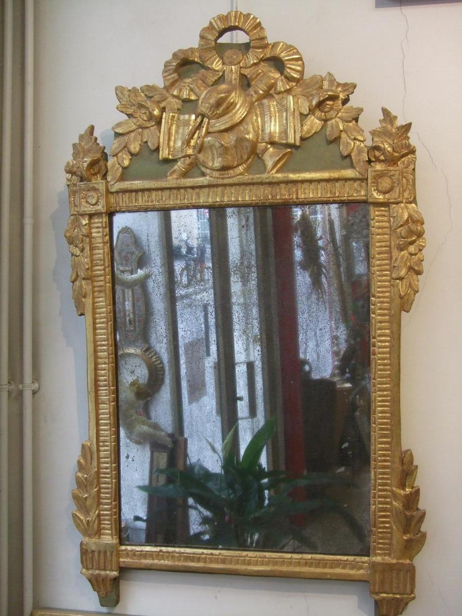 Miroir louis xvi miroirs for Miroir louis 16