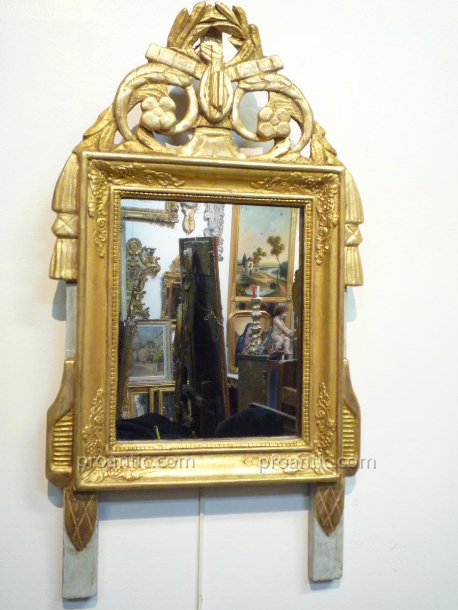 Miroir d'époque Directoire XVIIIème