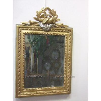 Miroir d'époque Louis XVI