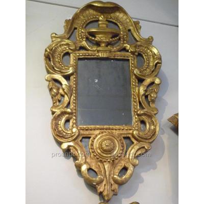 Miroir à Parcloses XVIIIème