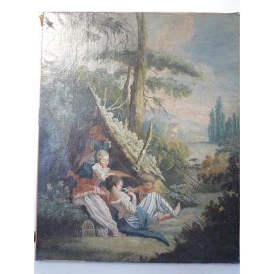 Tableau XVIIIème siècle