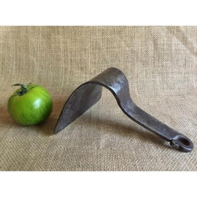 Scraper Squeegee Raclette For Kneader Maie Flour Chest - Wrought Iron - Bread Dough  French Folk Art XVIIIth