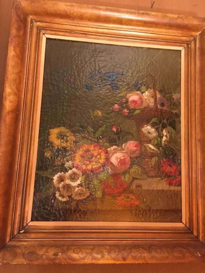 Still Life With Flowers. Romantic Périod