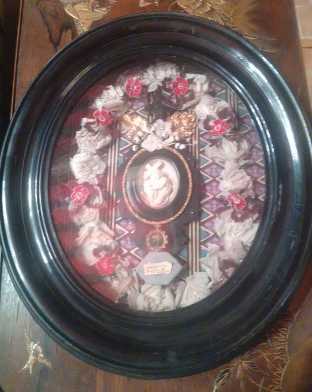 Grand reliquaire Sainte Julie d'époque Napoléon III