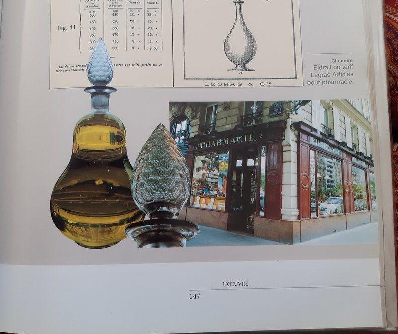 Grand Flacon De Pharmacie Legras Bouchon Taillé à Facettes Fin XIXème Siècle-photo-1