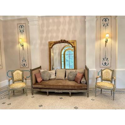Lit De Repos/ Banquette De Repos De Style Louis XVI