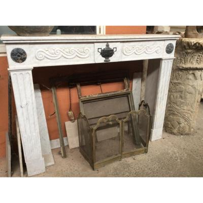 Marble Fireplace Late 18th