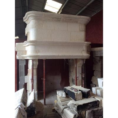 Beautiful Renaissance Fireplace In Stone From Crazannes