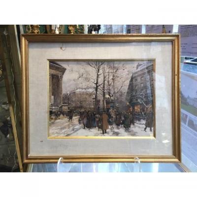 """""""Vue De Paris"""" Par Eugène Galien- Laloue (1854- 1941)"""