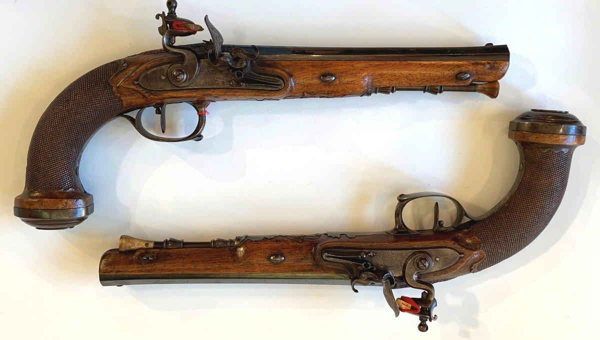 Paire De Pistolets De Combat