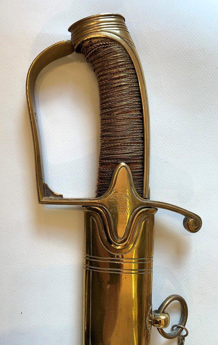 Sabre d'Officier De Chasseurs à Cheval Mle 1792