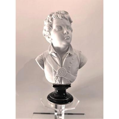 Biscuit Bust Of Young Viala