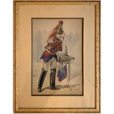 Trumpet Of The Cuirassiers Of The Guard
