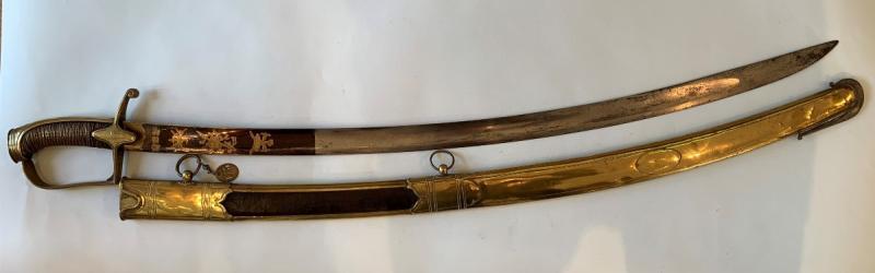 Sabre d'Officier De Chasseurs à Cheval Mle 1792-photo-3