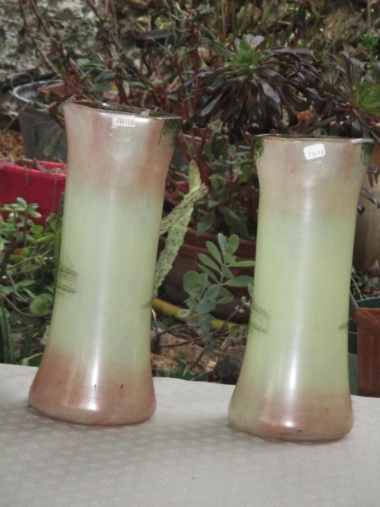 Paire De Vases -photo-2