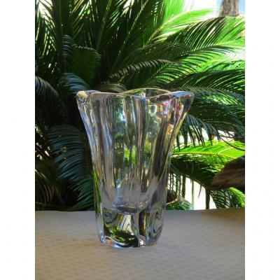 Vase En Cristal Daum