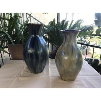 Vases En Gré flamme