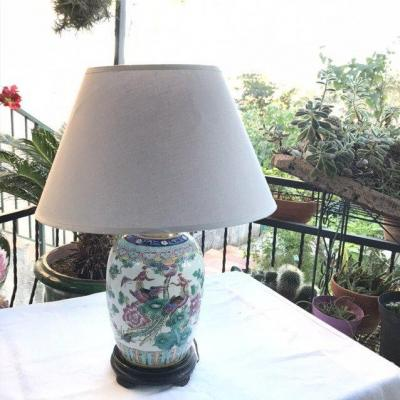 Lampe  Porcelaine De Chine