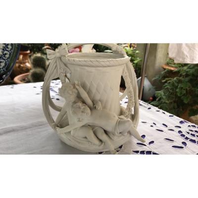 Vase  Angelots