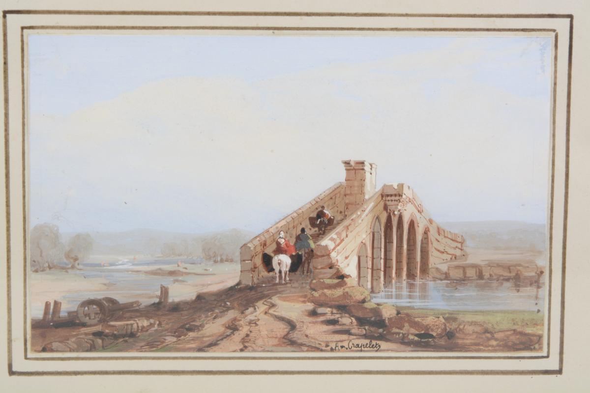 Bridge - Louis Amable Crapelet 1822-1867