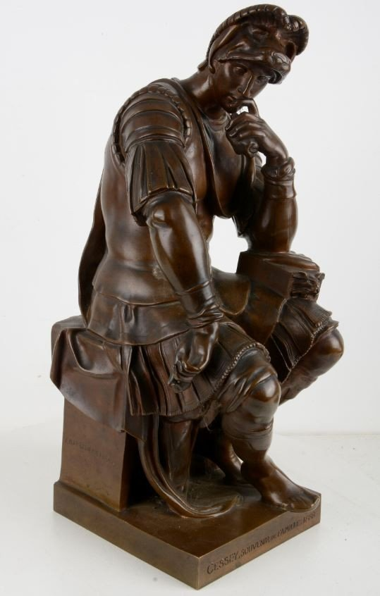 Laurent De Médicis, Duke Of Urbino After Michelangelo-photo-2