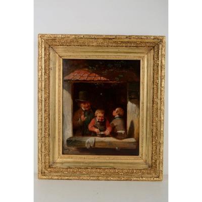 Soap Bubbles - Franciscus Melzer (antwerp 1808-1865)