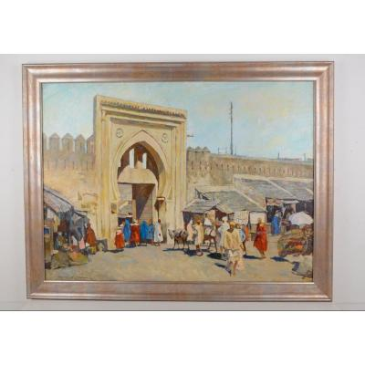 Puerta Del Socco Grande - Tangier - H. Jabran 1917-1993