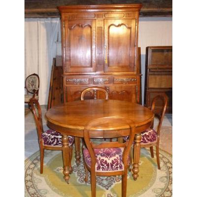 Meuble et mobilier ancien sur proantic louis philippe for Table 6 pieds louis philippe