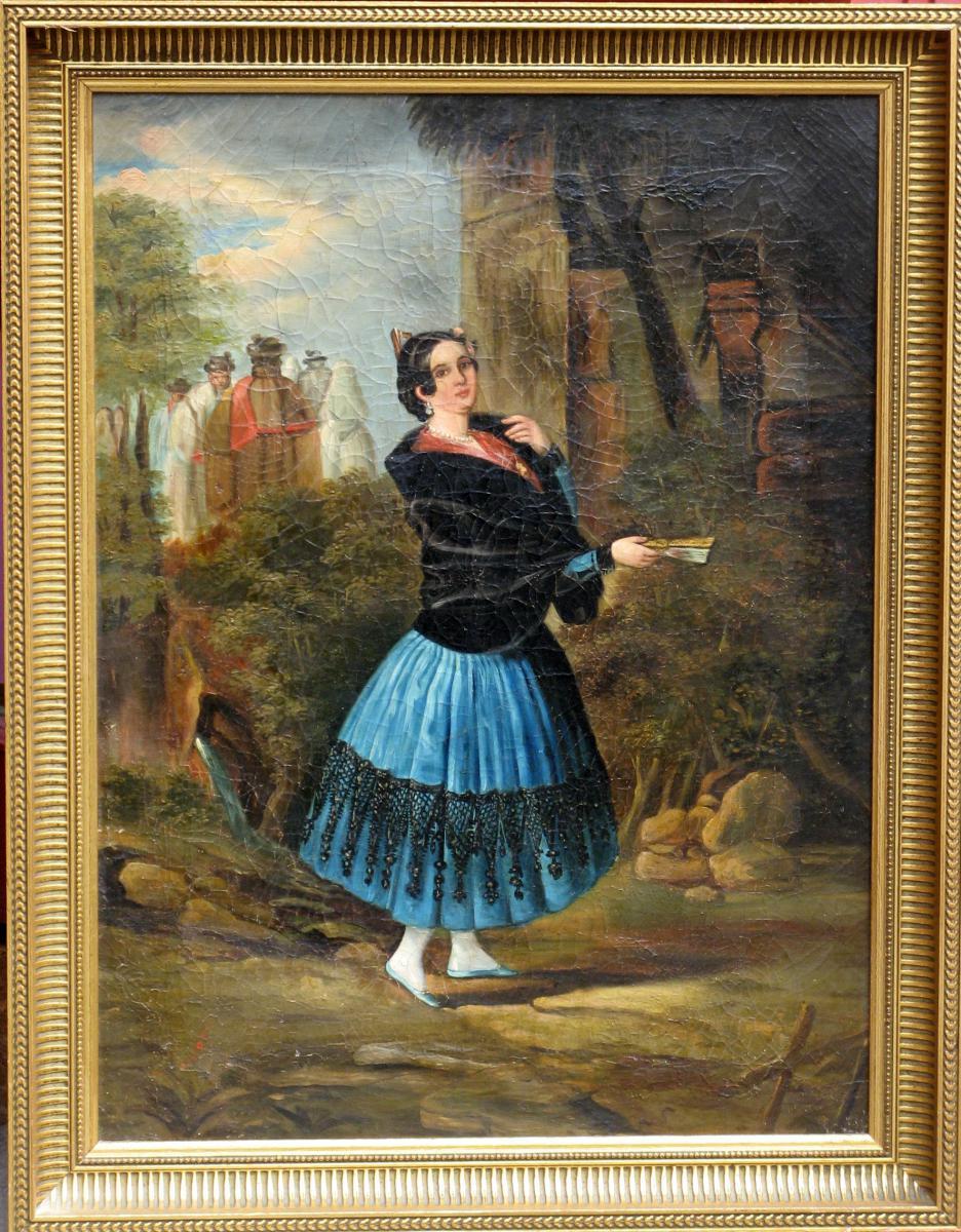 "Canvas XIXth: ""the Nice Spanish"""