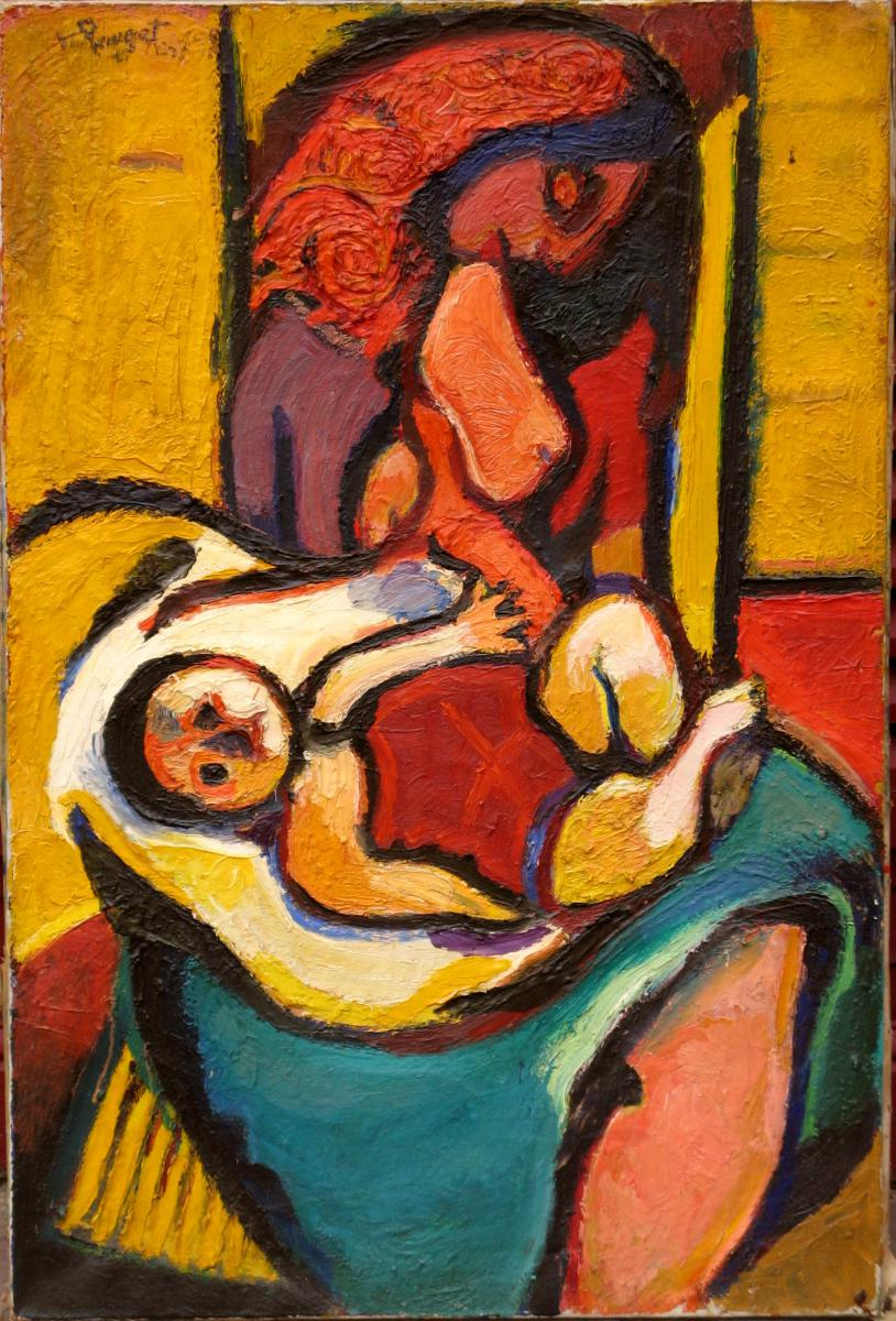 Marcel Pouget: Suzy With The Child
