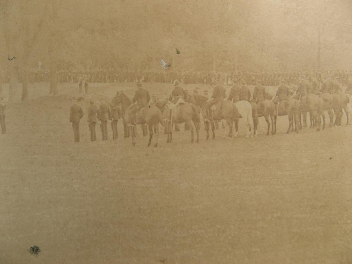 """Very Great Photograph 1850 : """"military Ceremony"""" -photo-1"""